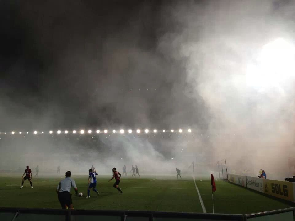 Smoke from Flares